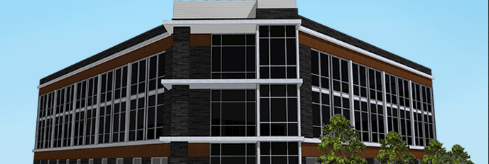235 main street west rendering of available office space